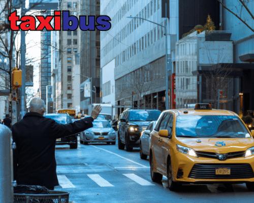 taxi bus - perth